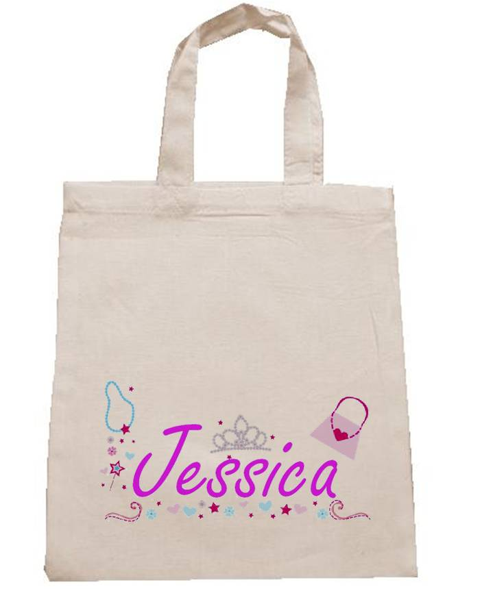 Printed Cotton Party Bags | Personalised Party